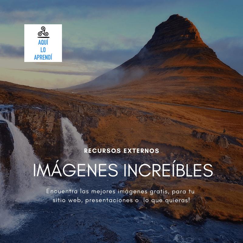 Imágenes Increíbles: Pexels y Pixabay