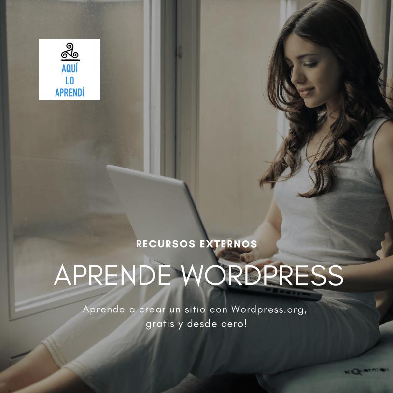 Construye un sitio en WordPress.org