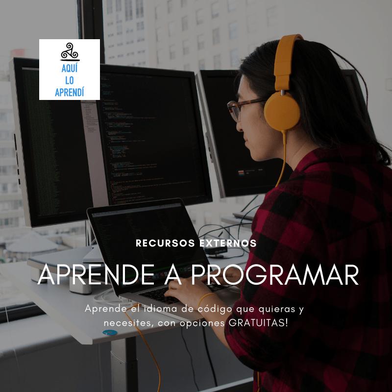 Aprende a programar gratis