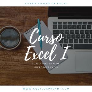 Curso Excel I: Básico