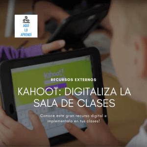 Kahoot: Uniendo la sala de clases con interacción digital.