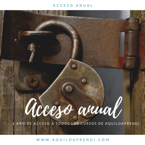 Acceso Anual