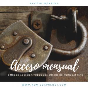 Acceso Mensual