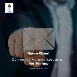 Campaña Automatizada en Mailchimp