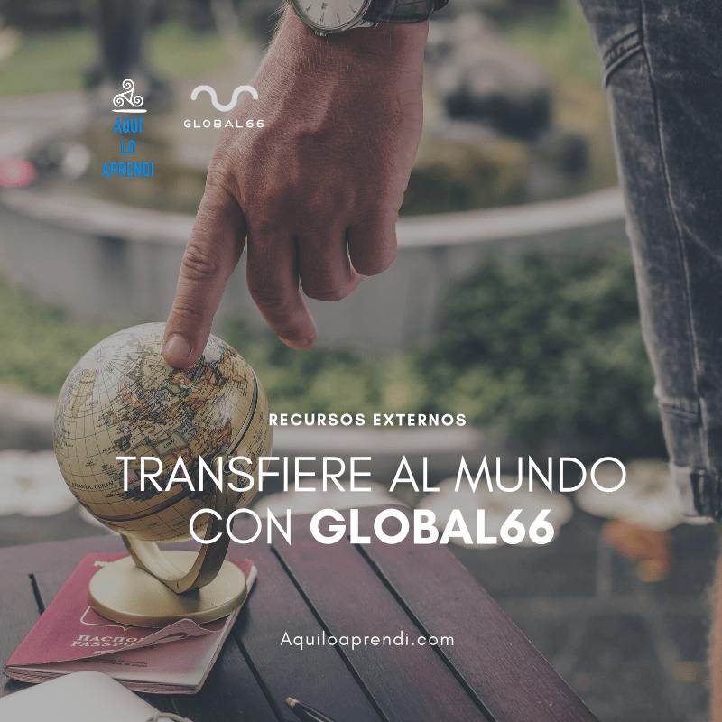 Global66: La mejor forma de hacer transferencias internacionales!