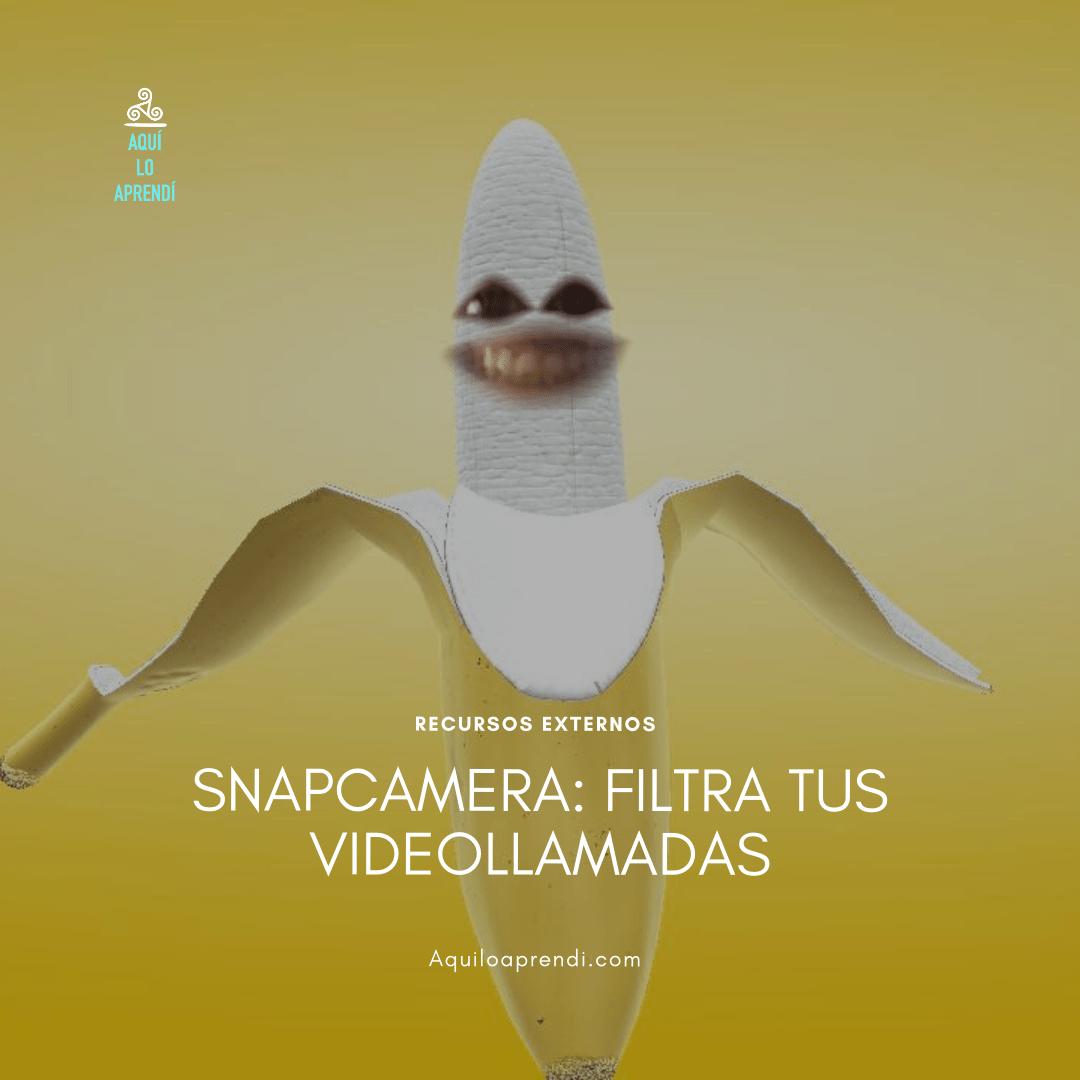 Snap Camera: Filtros para tus videollamadas
